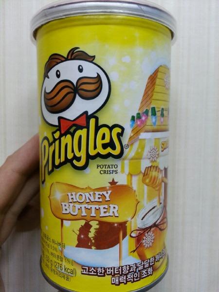 프링글스 허니 버터 Pringles Honey Butter
