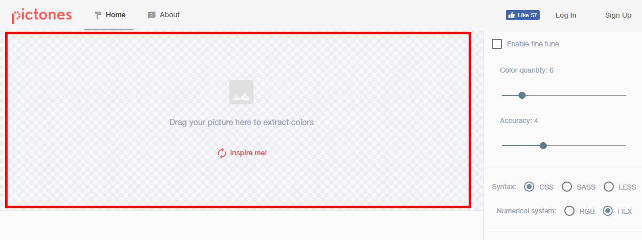 이미지 컬러 CSS로 추출해주는 사이트 'Pictones'