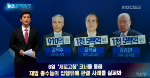 """MBC 뉴스데스크, """"이슈의 공공성 부각노력 돋보여"""""""
