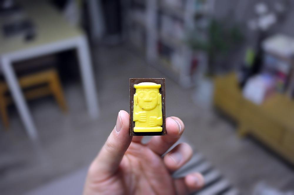 [제주 초콜릿] 백년초초코크런치, 감귤초코크런치 (초코味 제주 감귤 초콜릿 / 제주 백년초초코렛 / Cactus Choco Crunch)