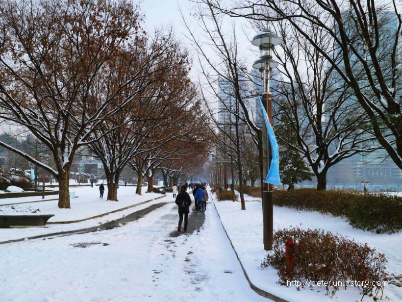 겨울산책길