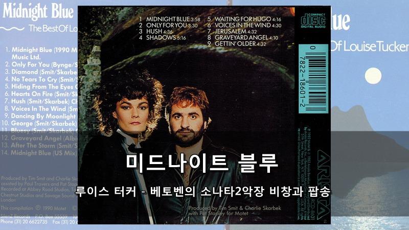 미드나이트 블루 (루이스 터커) - 베토벤의 소나타2악장 비창과 팝송