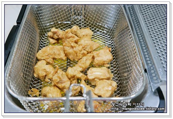 간장소스 닭강정 만들기
