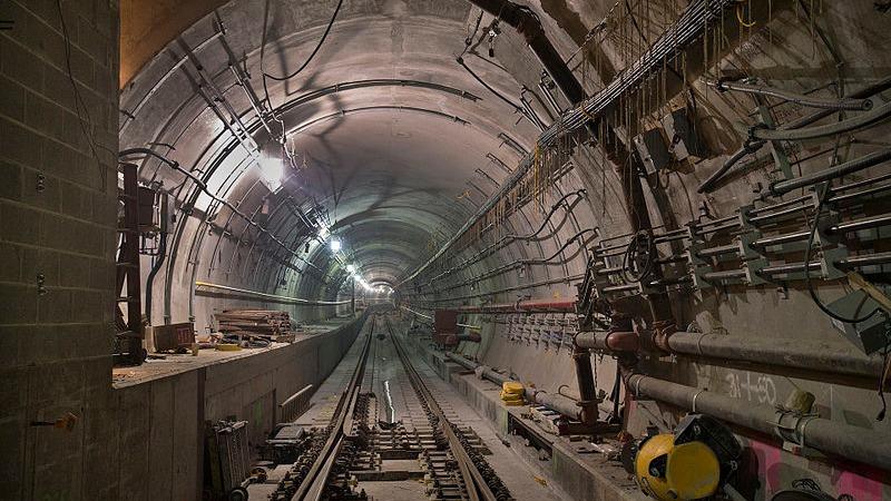 사진: 지하철 공사는 첨단 공법이 동원되고 대규모 자금이 투입되는 공사다.