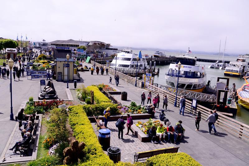 [2018 MLB TOUR(7)] 시티 바이 더 베이, 샌프란시스코 - 피어 39 & 피셔맨스 와프 외 (San Francisco, The city by the bay - Pier 39 & Fisherman's Wharf & et