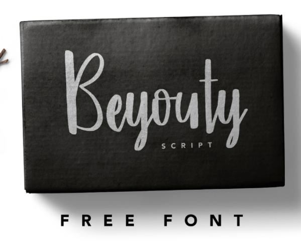 무료폰트 글꼴 'Beyouty Script'