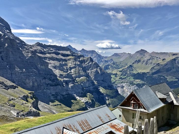 [융프라우여행] 최고의 경험 '아이거글레쳐(Eigergletscher) - 클라인 샤이덱(Kleine Scheidegg) 하이킹 코스