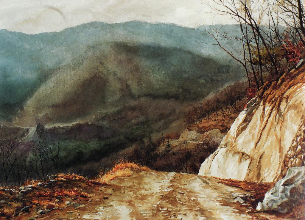 FineArt-회화(painting): 수채화가 故 최활영(1966-2005)